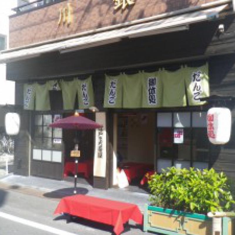 亀戸香取大門商店街で「レトロな街にレトロなクルマ」