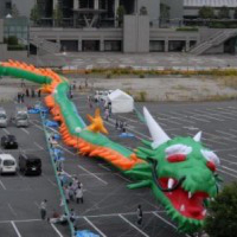125mの竜がギネス世界記録認定/埼玉