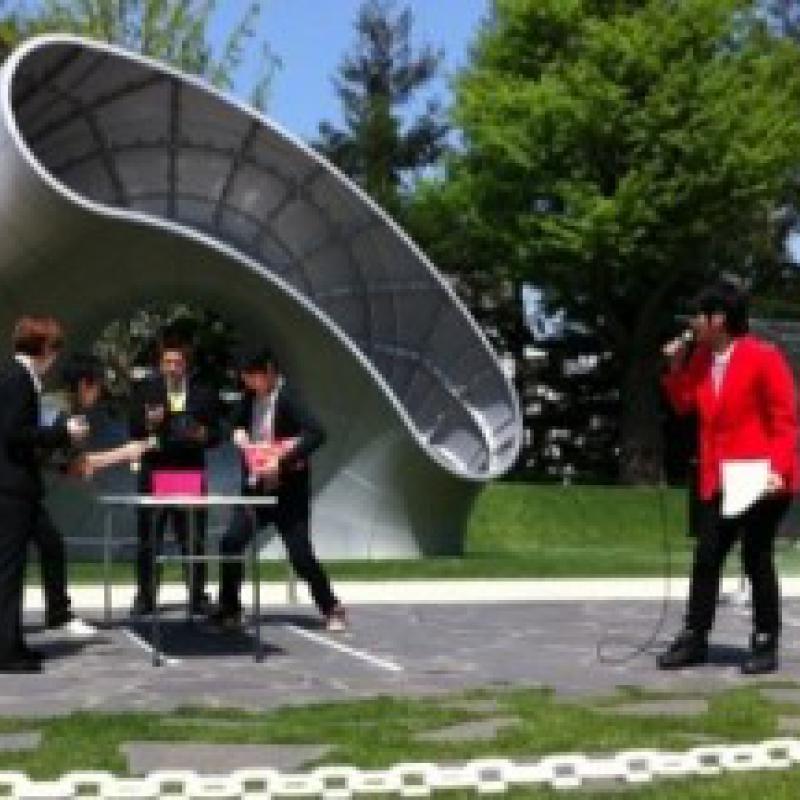 東京ミッドタウンでギネス世界記録挑戦イベント開催
