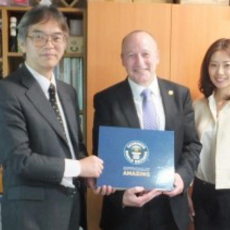 ギネスワールドレコーズ社と地域活性化に向けて協議/世界記録サポート窓口