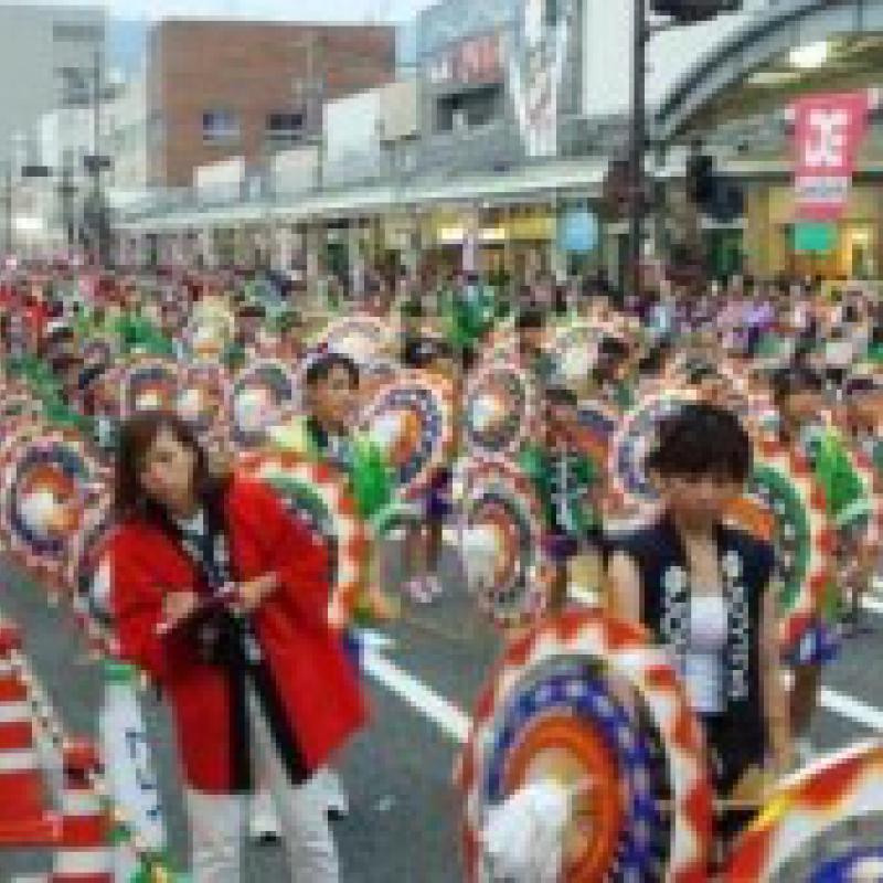鳥取しゃんしゃん祭りが「世界最大の傘踊り」にギネス世界記録認定