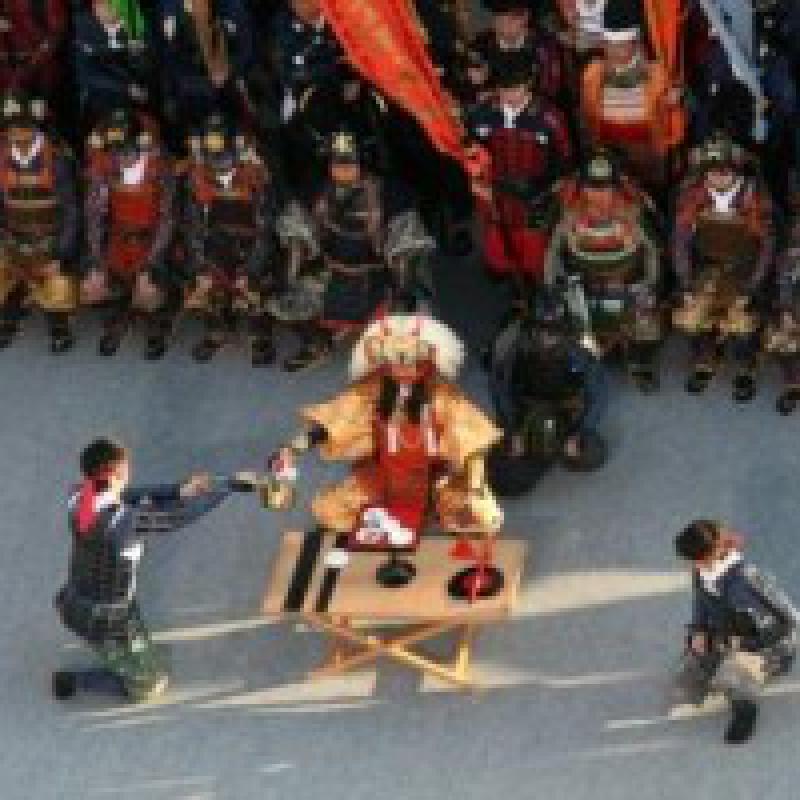世界一のよろい武者行列~信玄公祭り(山梨県甲府市)