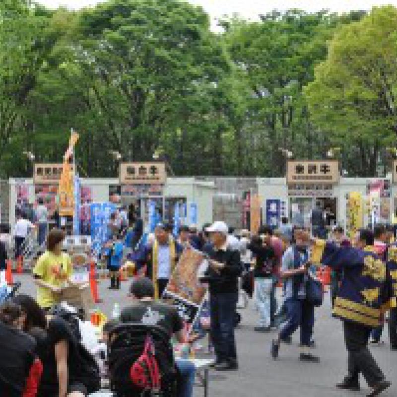 「大牛肉博」に参加中の一関市舞台裏~イベント参加を通じた地域のファンづくり~