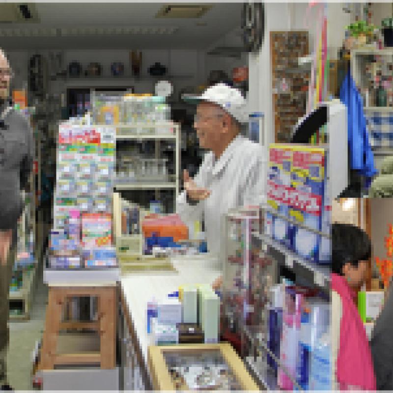 「少し」英語が通じる癒しの商店街~品川区の英会話教室~
