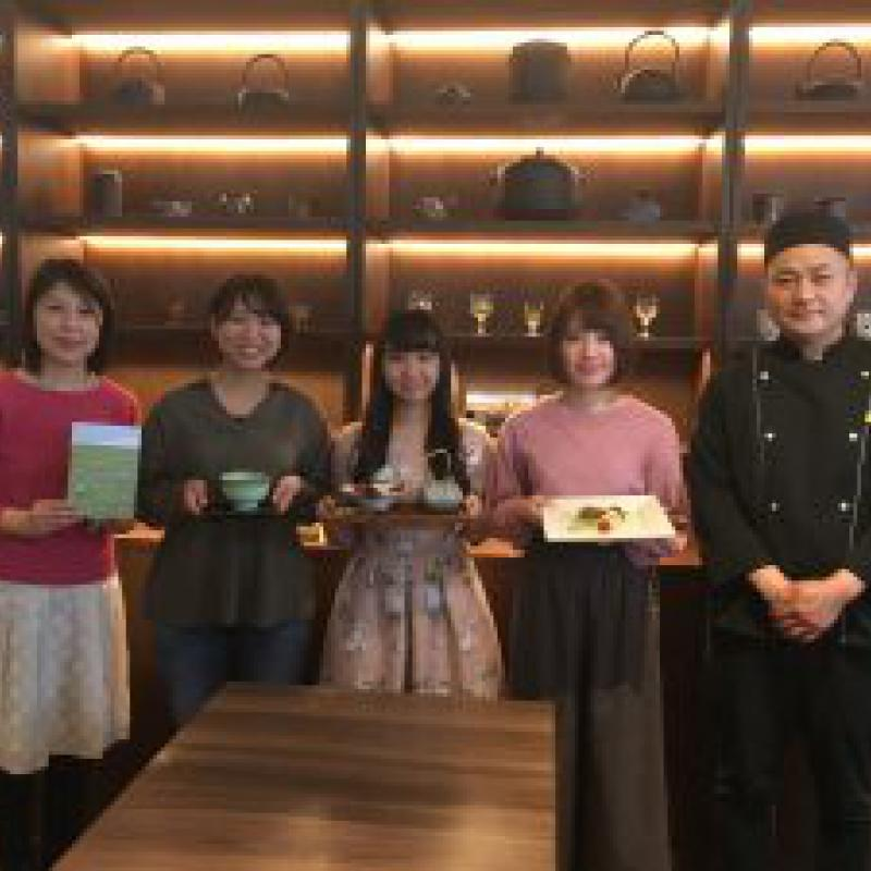 東京家政大生が狭山市と地域産品レシピで連携