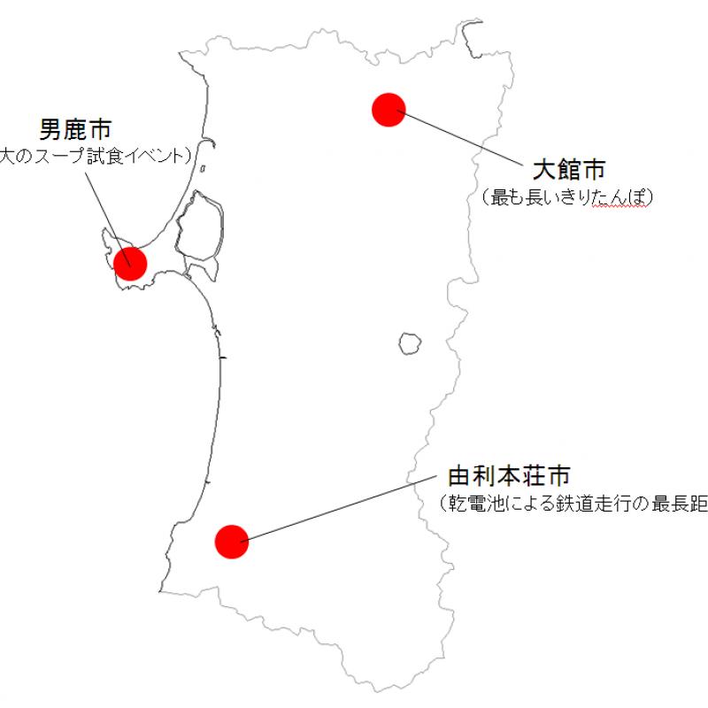 連載・ご当地世界一 ~第5回・秋田県~