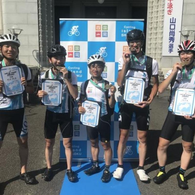 「四国一周サイクリングChallenge!-2019-」に挑戦した学生たちが四国一周1000kmチャレンジを達成