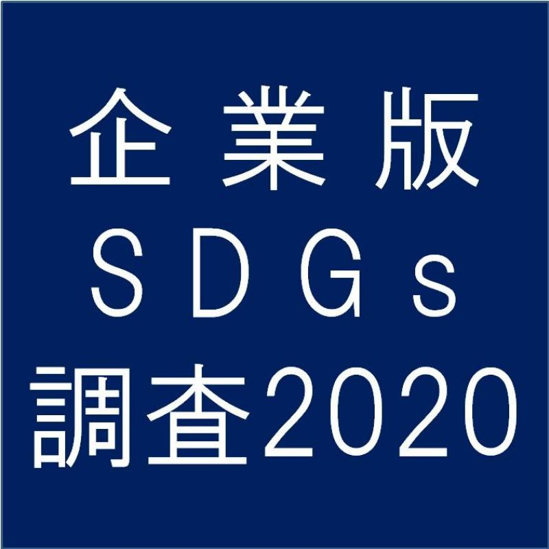 企業版SDGs調査 追加調査受付中