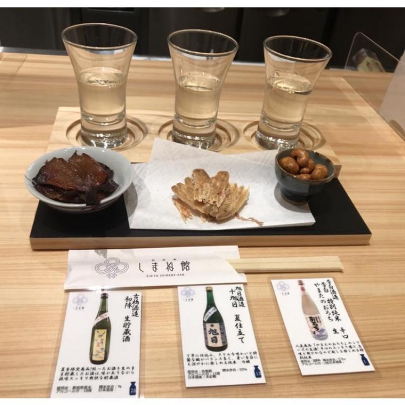 Go Go!アンテナショップ!夏にオススメの日本酒飲み比べ
