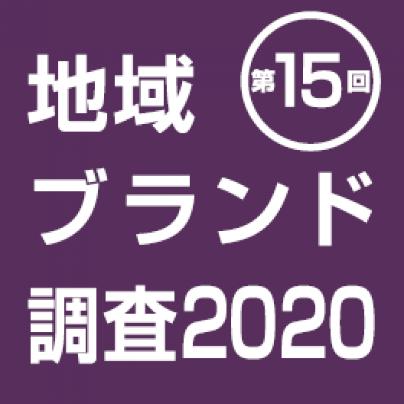 都道府県の魅力度等調査結果(地域ブランド調査2020)
