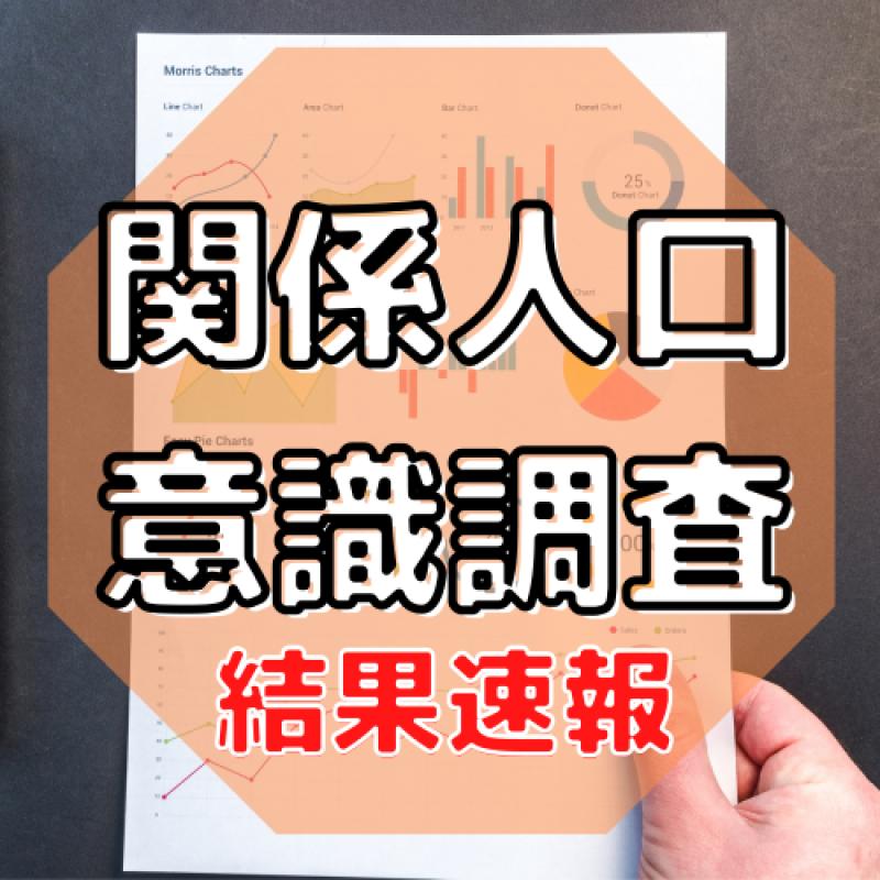 【県外の応援者・出身者】最多は福島で居住人口の6.8倍「関係人口の意識調査」