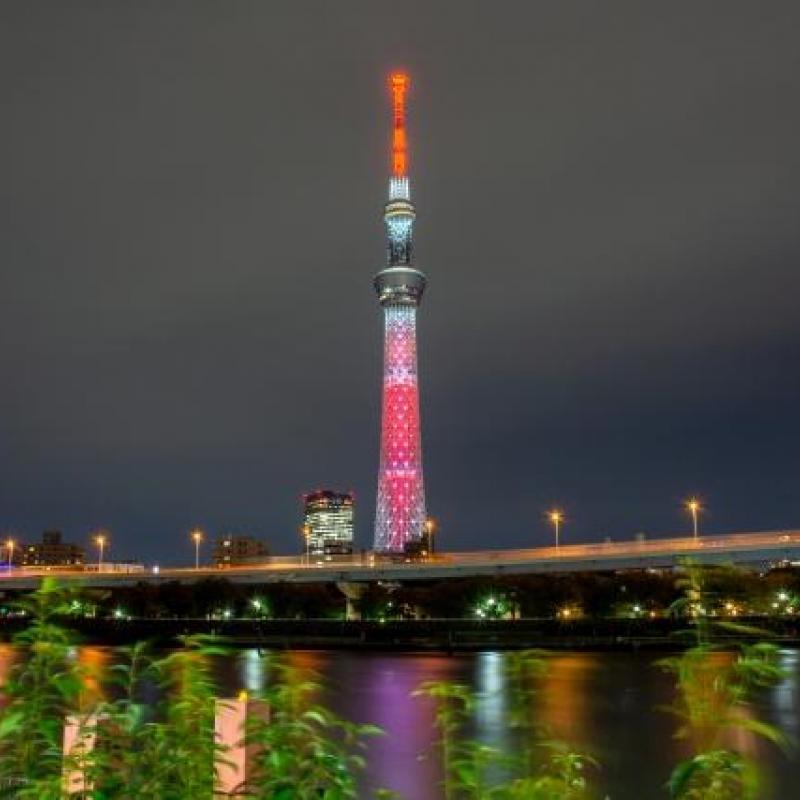 東京スカイツリー(R)で47都道府県をイメージした特別ライティング!